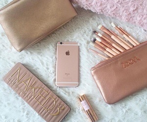 iphone, makeup, and naked image