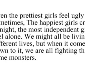 quotes, monster, and pretty image