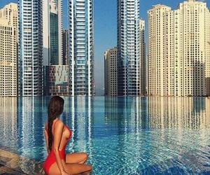 girl and Dubai image