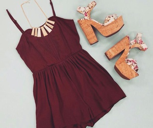 heels, outfit, and clothes image