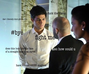 funny, the mortal instruments, and alec image