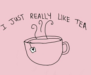 tea, pink, and quotes image