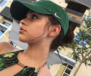 maggie lindemann, beauty, and green image