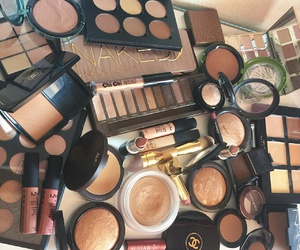 chanel, makeup, and neked3 image