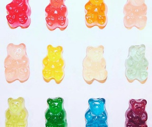 bear, pink, and colors image