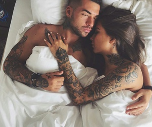 casal, tatto, and amor image