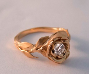 ring, gold, and beautiful image