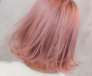 hair, pink, and indie image