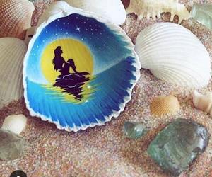 art, disney, and mermaid image