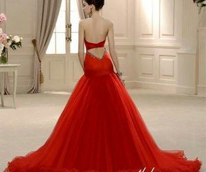 dress, fiesta, and red image