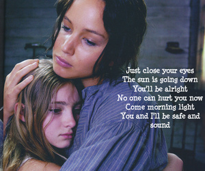 pretty, katniss, and prim image