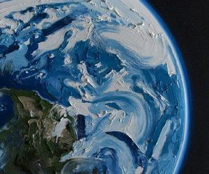 earth, art, and painting image