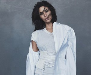 kim kardashian, vogue, and model image
