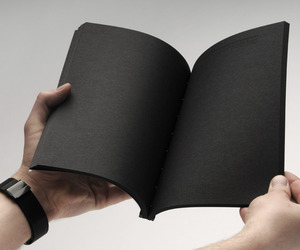 black and book image