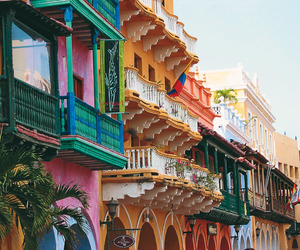 colorful, cartagena, and beautiful image