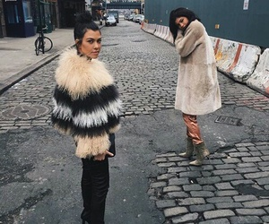 kylie jenner, kourtney kardashian, and kardashian image