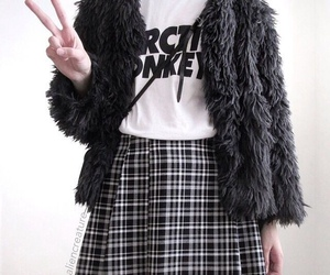 fashion, arctic monkeys, and grunge image