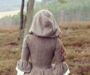 dress, fantasy, and hood image