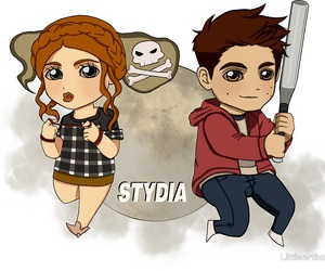 couples, fan art, and teen wolf image
