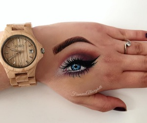 hand and makeup image