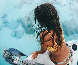 bikini, travel, and vacation image