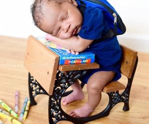 cutie, newborn, and baby image