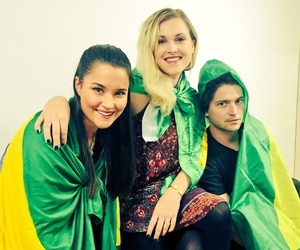 thomas mcdonell, the 100, and eliza taylor image