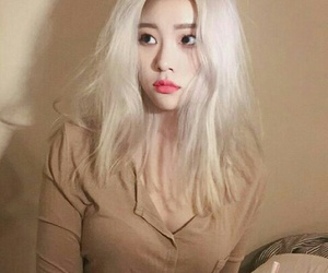 asian girl, sojin, and beauty image