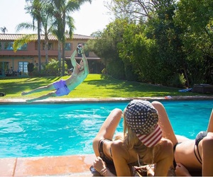 goals, hot girls, and mansion image