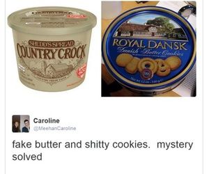 butter, Cookies, and fr image
