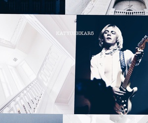 dark blue, white, and ross lynch image