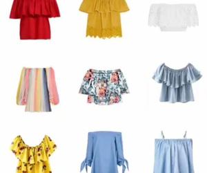 outfits, playa, and blusas image