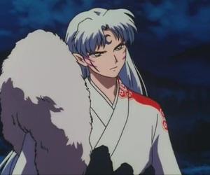 anime, manga, and sesshomaru image