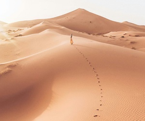 desert, girl, and summer image