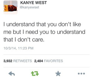 quotes, kanye west, and twitter image