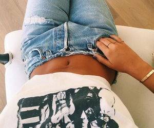 jeans, style, and clothes image