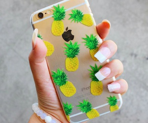 beautiful, nails, and iphone image