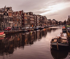 amsterdam, beautiful, and travel image