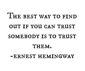 ernest hemingway, lies, and truth image