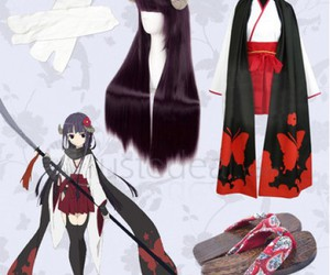 cheap ririchiyo cosplay, cheap coslay costume, and halloween cosplay outfits image