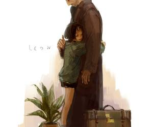 leon, love, and art image