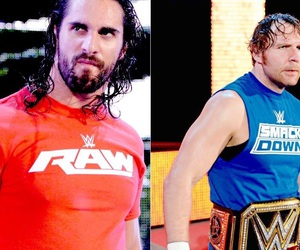 dean ambrose, wwe, and smackdown image