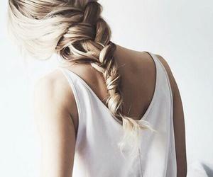 blonde, haïr, and hairstyle image