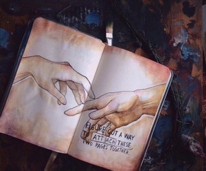 wreck this journal and draw image