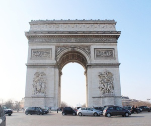arc de triomphe, beautiful, and france image