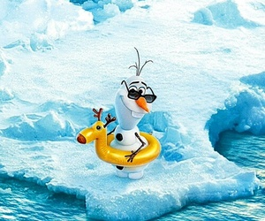 disney and olaf image