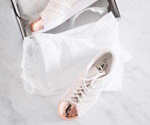 adidas, marble, and superstars image