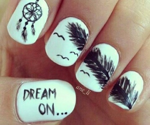 art, nails, and dream on image
