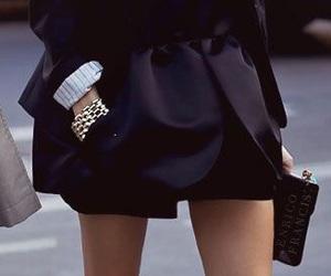 black, steletto, and fashion image