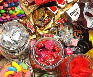 candy, chocolate, and colors image